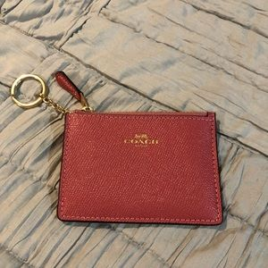 Coach Coin / Card  purse / keychain